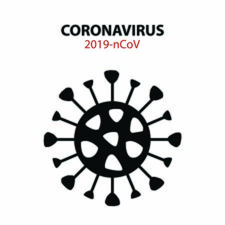 Coronavirus type illustration. Coronavirus type illustration vector. Stock Illustratie