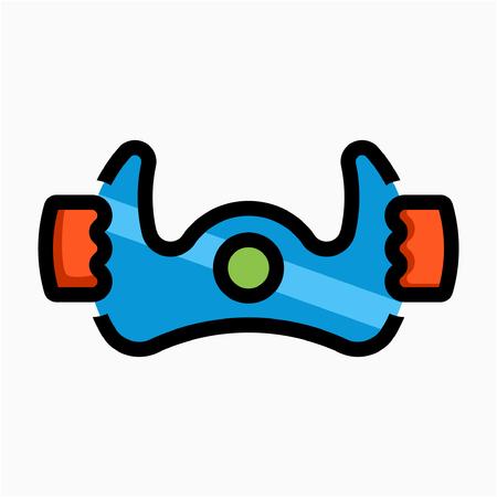 Flat Airman pixel perfect vector icon