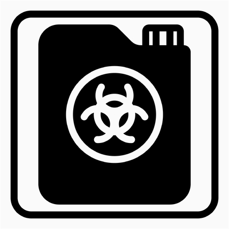 Glyph Chemical industry pixel perfect vector icon