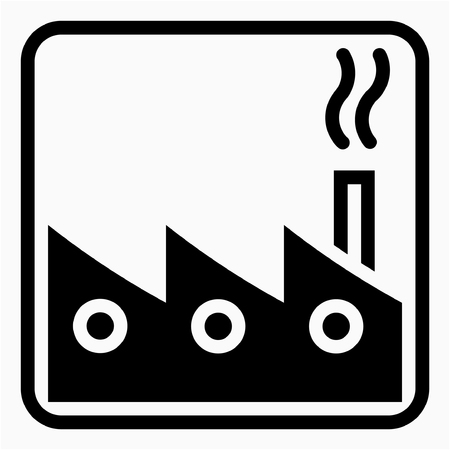 Glyph General industry pixel perfect vector icon Çizim