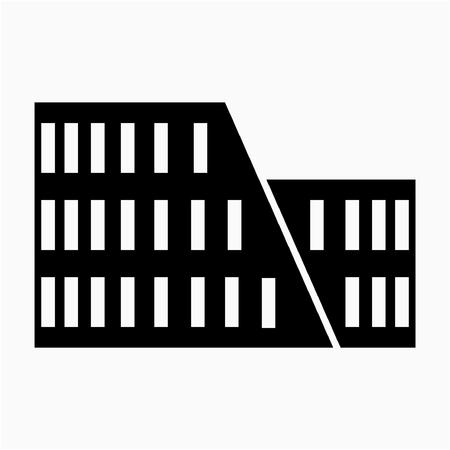 Glyph Rome Colosseum pixel perfect vector icon Stok Fotoğraf - 106585954