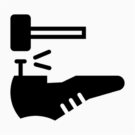 Glyph Shoemaker pixel perfect vector icon