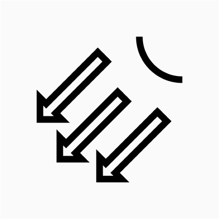 Outline swing pixel perfect vector icon