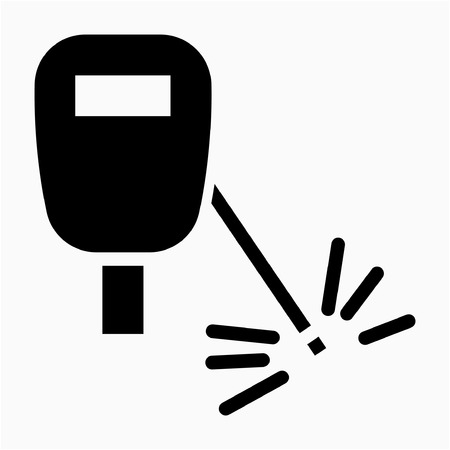 Glyph welder pixel perfect vector icon 일러스트