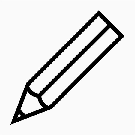 Outline Office stationery vector icon