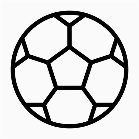 Outline sport vector icon Ilustrace