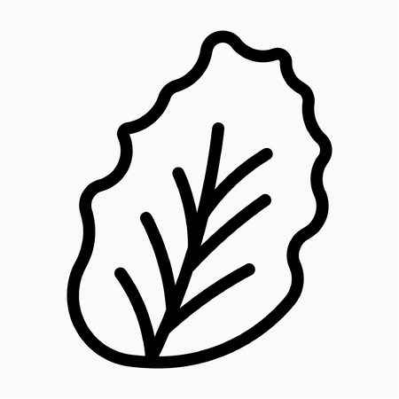 Outline food vector icon
