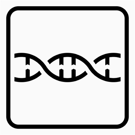 Outline biotechnology pixel perfect vector icon
