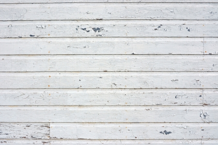 barn wood: Background of old wall with white peeling siding  Stock Photo