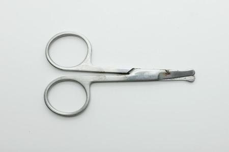 clipper: Nose hair clipper, scissors