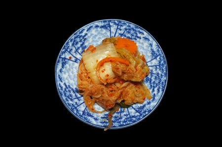korean salad: Kimchi, Korean vegetable salad