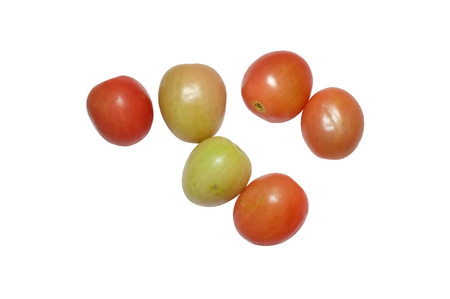 grape: Cherry or grape tomatoes Stock Photo