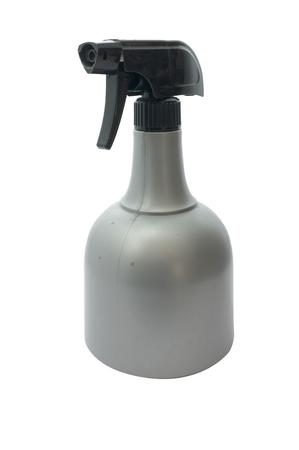 sprayer: plastic sprayer on white background