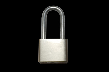 lock and key: Lock without key Stock Photo