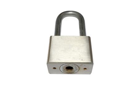 lock and key: Lock without key Stock Photo