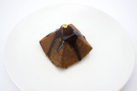 earl: Tartelette of almonds earl grey