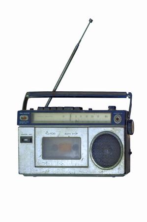 shortwave: Vintage Radio ,retro technology Stock Photo