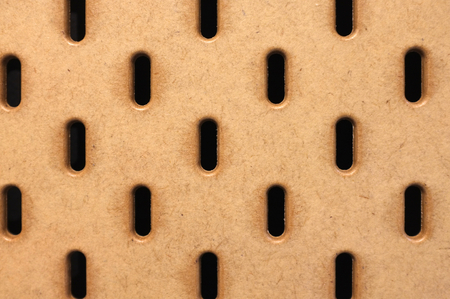 Brown pegboard Texture background