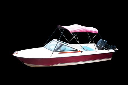The image of an passenger motor boat Stock fotó