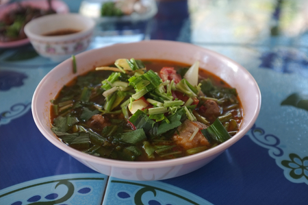 Hot and Spicy Soup with Pork Ribs
