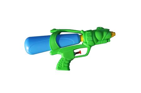 Plastic water gun  . Concept Songkran Festival : Thai Water Festival