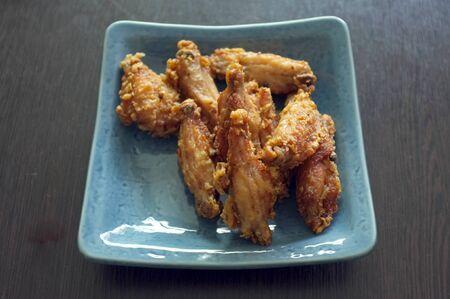 Salt fried chicken wings