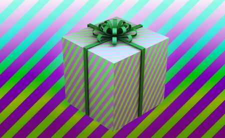 Happy birthday and gift box background Фото со стока