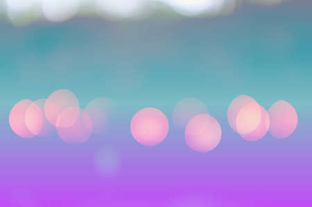 Abstract circular bokeh nature background of light . Blur background