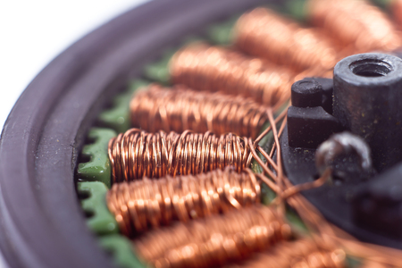 coils: Motor coils macro isolated