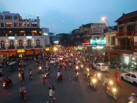 bustling: Hanoi, Vietnam