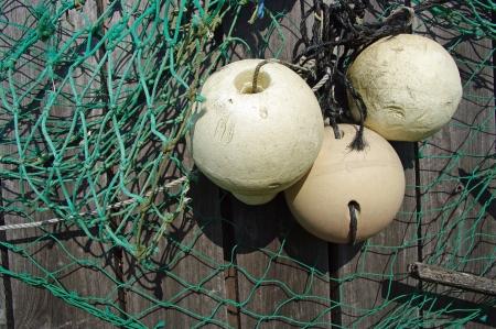 Pêche flotteurs et de filets Banque d'images - 8913855