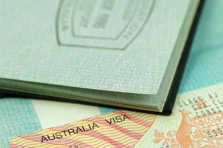 australian visa and passport photo