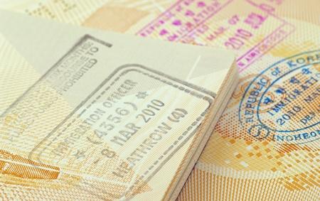 passport immigration stamps
