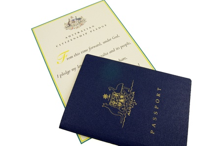 citizenship: passport and citizenship pledge