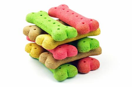 Pile de biscuits pour chiens Banque d'images - 23338543