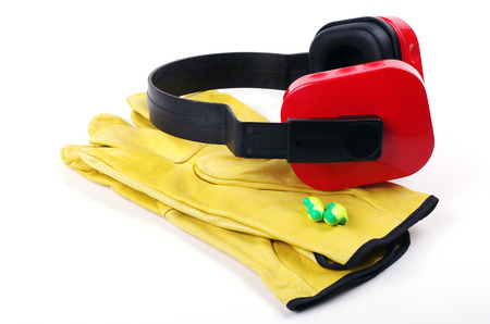 foam safe: gloves and ear protectors