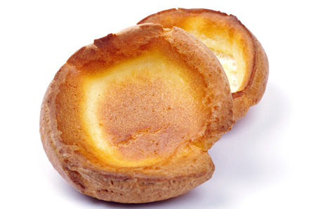 british food: traditional yorkshire puddings