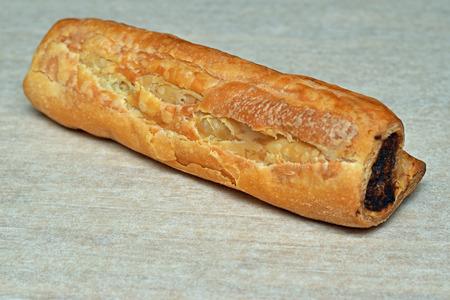 sausage roll Stock Photo