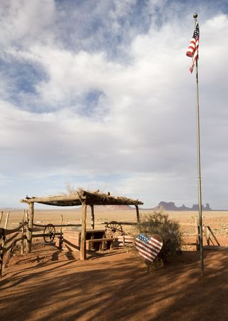Trading post near Monument Valley, Utah, USA