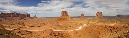 Afternoon at Monument Valley, Utah, USA