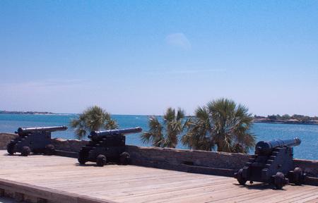 protect: Three Canon Protect the Harbor