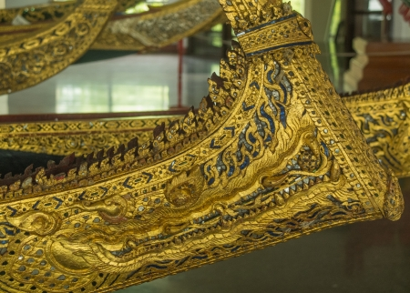 prow: Golden Naga, prow of a ship