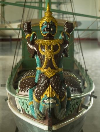 prow: Garuda, prow of a ship