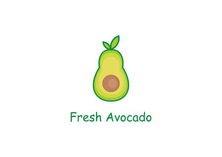 fresh avocado icon