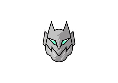 Simple icon of the knights mask