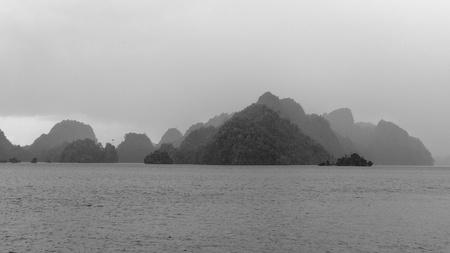 Fog, Misool islands, Papua, Indonesia