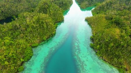 Green River at Misool, Raja Ampat, Indonesia