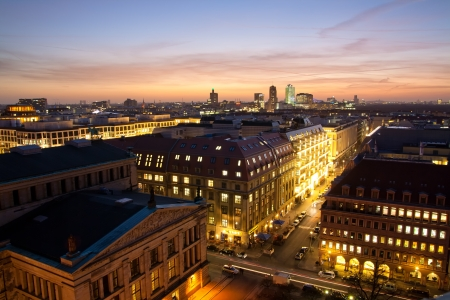 Panorama of Berlin Germany photo