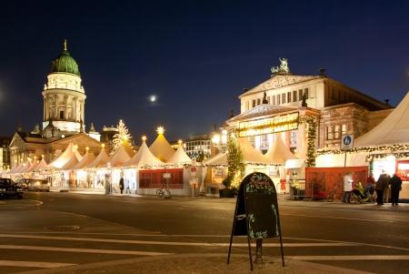 east berlin: Christmas in streets of Berlin