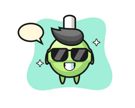 Lollipop, cute style design for t shirt, sticker, logo element